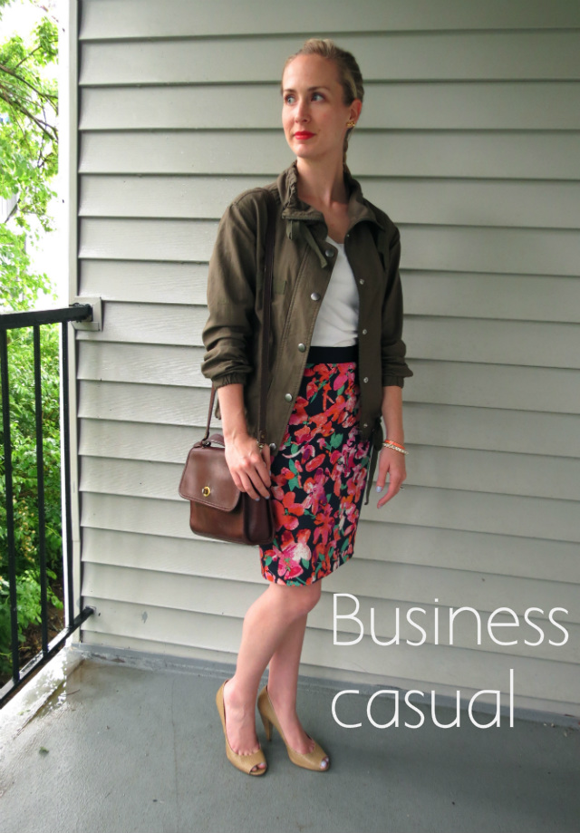 how to wear a utility jacket, how to wear an army jacket, army jacket business casual