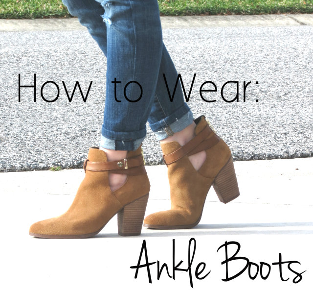 ankle boots, how to we...