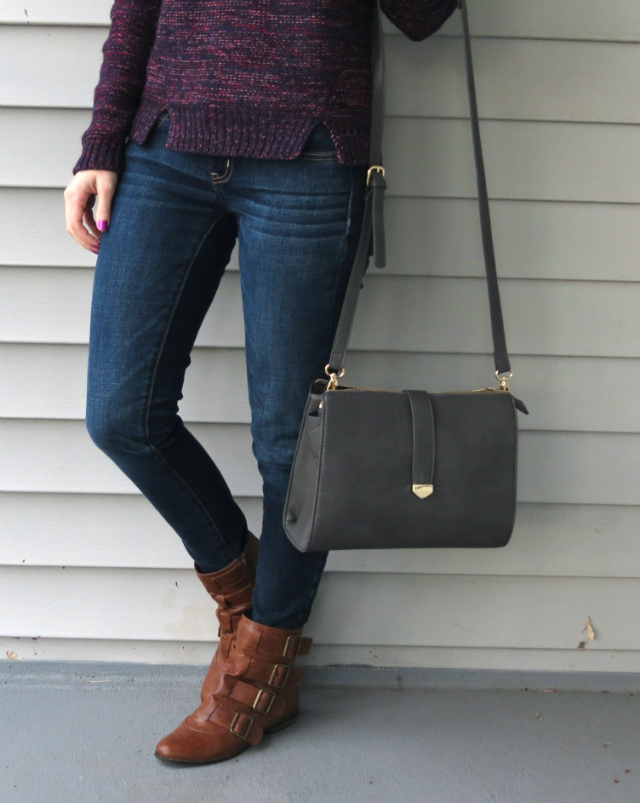 Skinny jeans and ankle boots can be a great pairing for petites, so long as the length is just right. You'll want to sport a pair of jeans that makes you look long and lean, perfectly accomplished by .