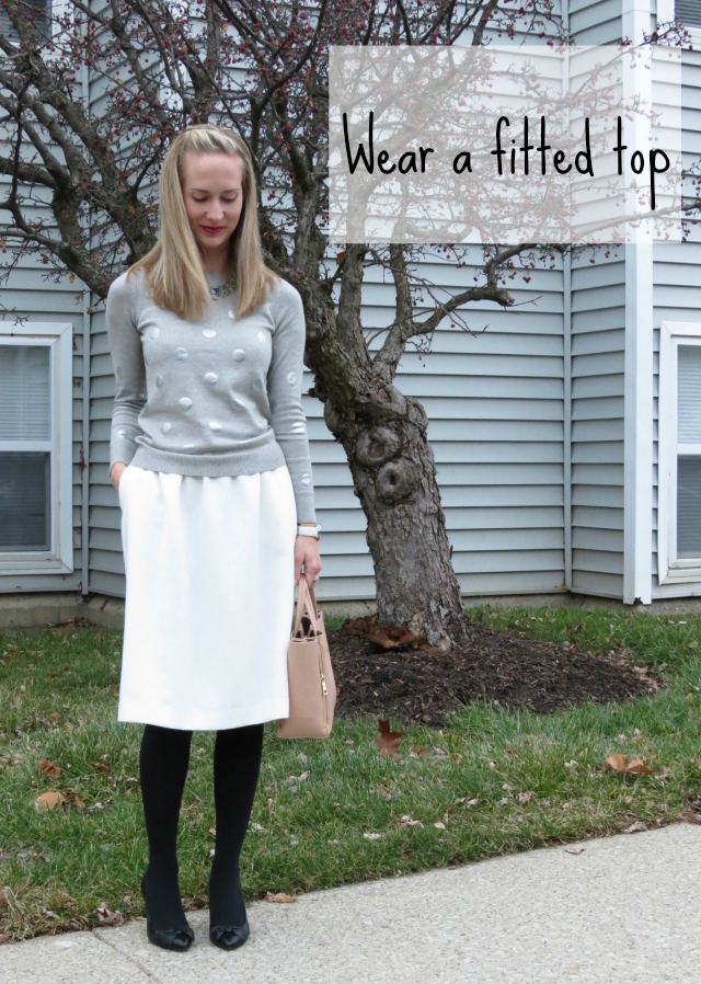 how to wear midi skirt, how to style midi skirt