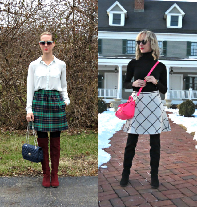 how to wear over the knee boots, otk boots outfit ideas, how to style tall boots