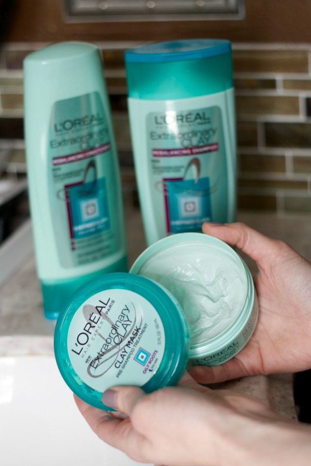 l'oreal extraordinary clay hair review