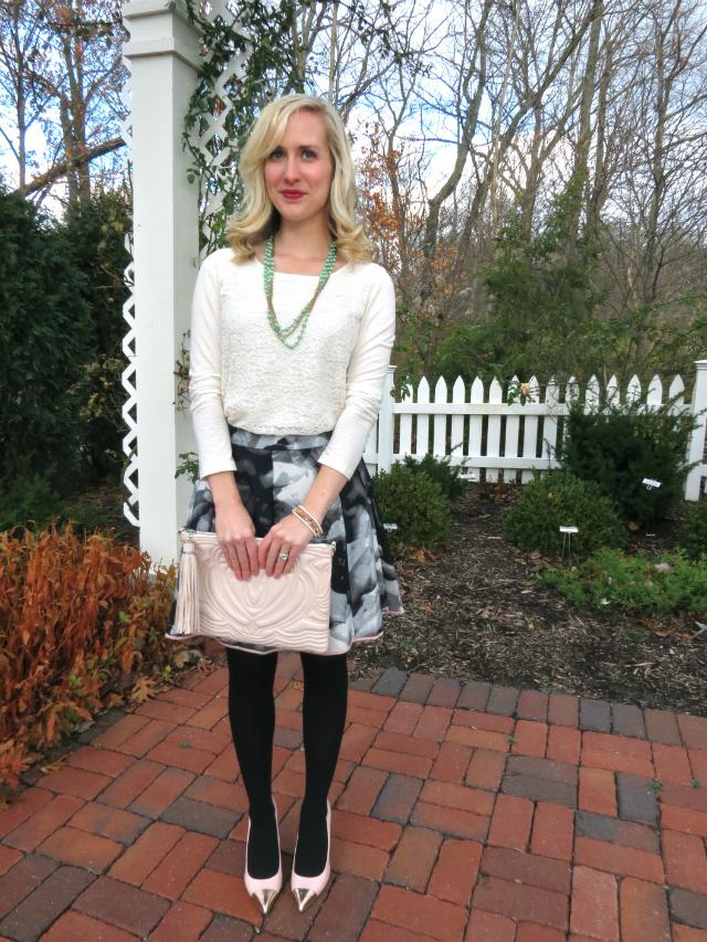 Winter Wedding Guest Attire Fl Target Skirt Rose Gold Mod Coat H M